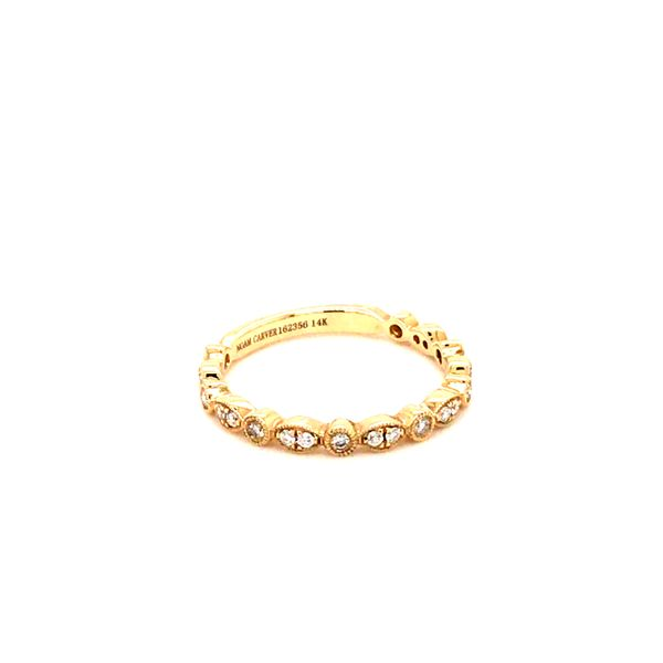 0.21CT T.W DIAMOND NOAM CARVER STACKABLE 14KT YELLOW GOLD RING SIZE 6.5 Image 3 Taylor's Jewellers Alliston, ON