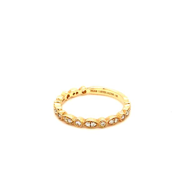 0.21CT T.W DIAMOND NOAM CARVER STACKABLE 14KT YELLOW GOLD RING SIZE 6.5 Image 4 Taylor's Jewellers Alliston, ON