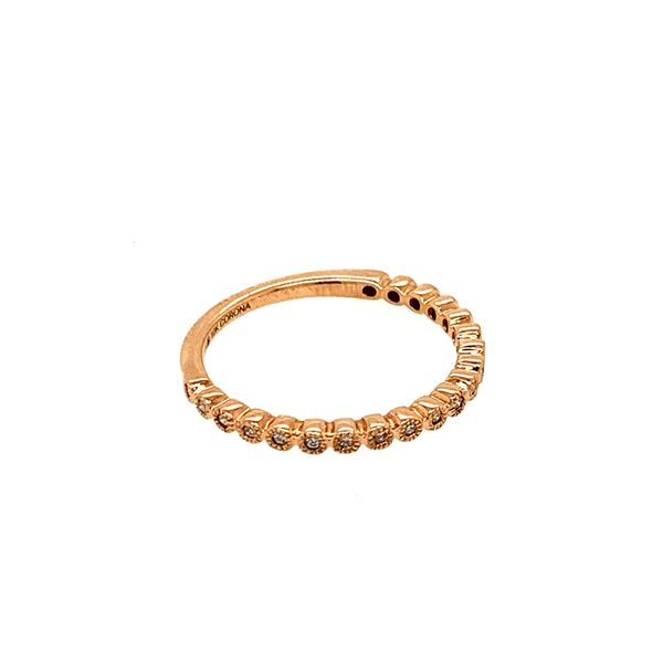 0.10TDW DIAMOND CHI CHI 10KT ROSE GOLD BAND Image 2 Taylor's Jewellers Alliston, ON
