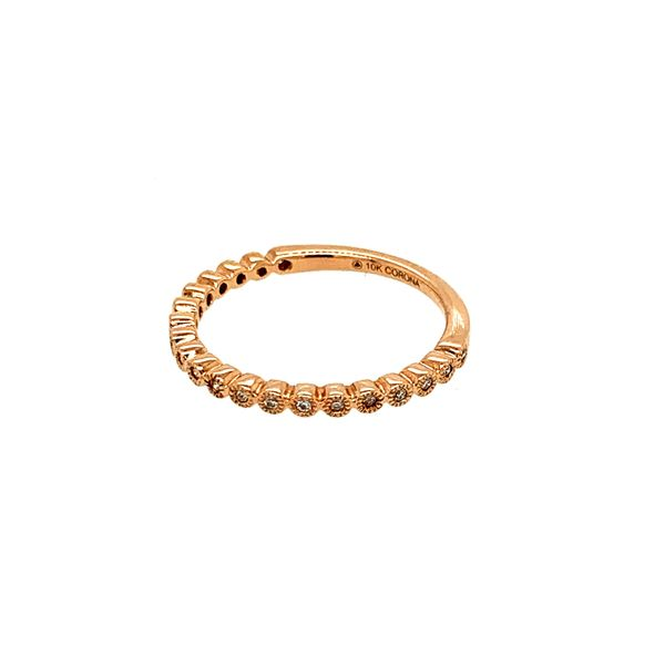 0.10TDW DIAMOND CHI CHI 10KT ROSE GOLD BAND Image 3 Taylor's Jewellers Alliston, ON