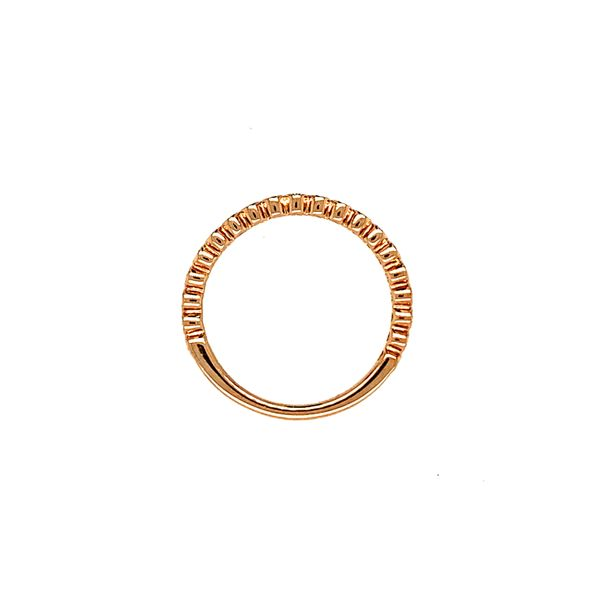 0.10TDW DIAMOND CHI CHI 10KT ROSE GOLD BAND Image 4 Taylor's Jewellers Alliston, ON