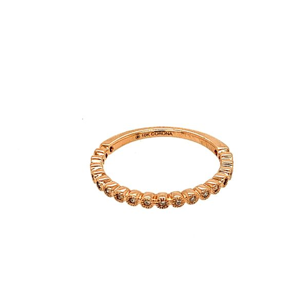 0.10TDW DIAMOND CHI CHI 10KT ROSE GOLD BAND Taylor's Jewellers Alliston, ON