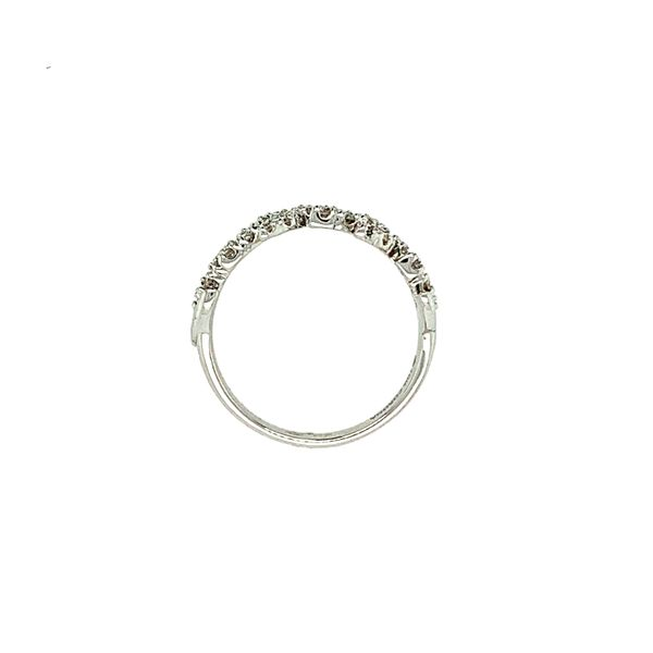 0.50CTW Diamond Pavé Leaves Ring in 10KT White Gold size 6.5 Image 4 Taylors Jewellers Alliston, ON