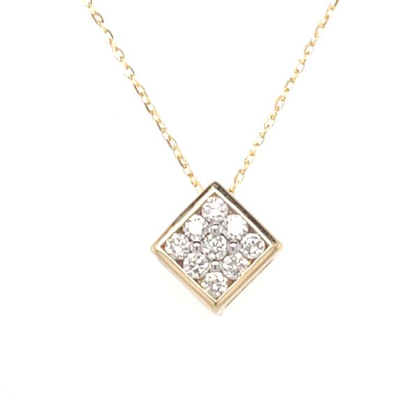 ICICLES IC1010 0.13CT T.W DIAMOND & 10KT YELLOW GOLD NECKLACE Taylors Jewellers Alliston, ON