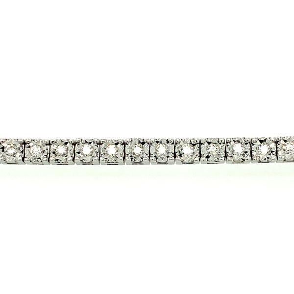 TENNIS BRACELET 1CT TDW   TAYLOR'S 70TH ANNIVERSARY SPECIAL  54 DIAMOND 10KT WHITE GOLD Image 2 Taylors Jewellers Alliston, ON