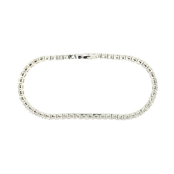 TENNIS BRACELET 1CT TDW   TAYLOR'S 70TH ANNIVERSARY SPECIAL  54 DIAMOND 10KT WHITE GOLD Image 3 Taylors Jewellers Alliston, ON