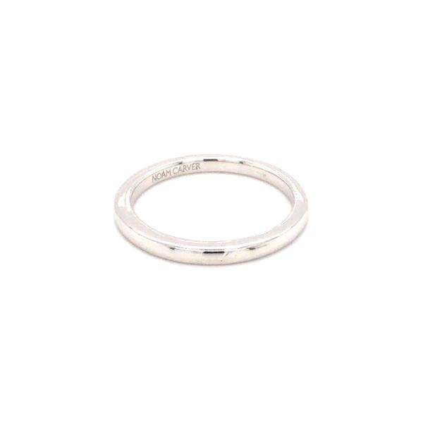 14KT WHITE GOLD MATCHING NOAM CARVER BAND Image 2 Taylor's Jewellers Alliston, ON