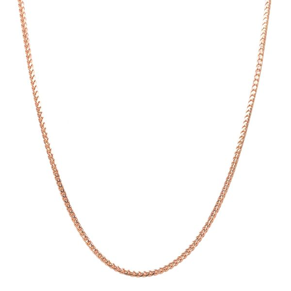 14KT ROSE GOLD FRANCO CHAIN LENGTH 16