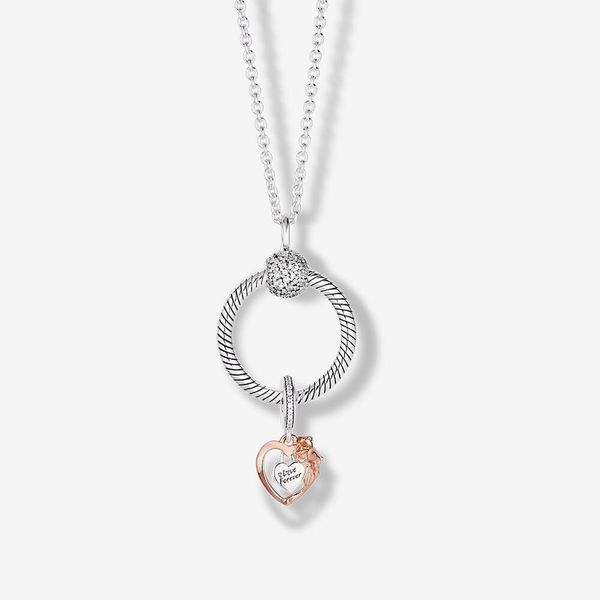 PANDORA B801507-60 HEART AND ROSE FLOWER