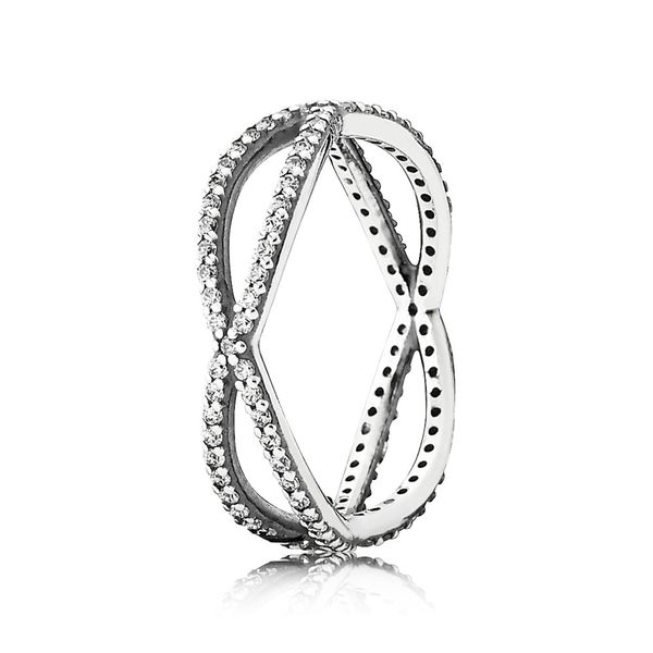 PANDORA 190930CZ-52 CROSSING PATHS RING SIZE 6 Taylors Jewellers Alliston, ON
