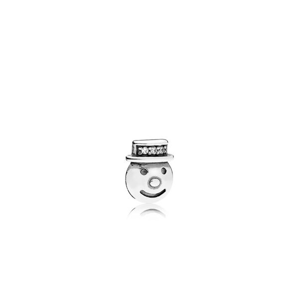 PANDORA 796383CZ SNOWMAN PETITE ELEMENT CHARM Taylors Jewellers Alliston, ON