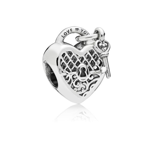 Love You Lock Charm Taylor's Jewellers Alliston, ON
