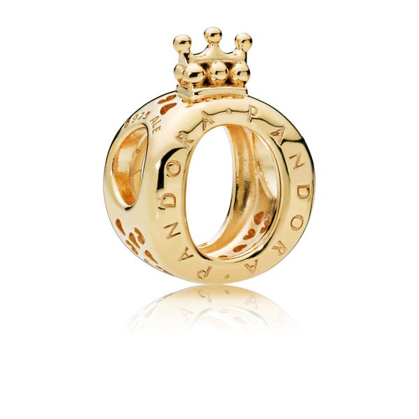 PANDORA 767401 Crown O Logo Charm Taylors Jewellers Alliston, ON