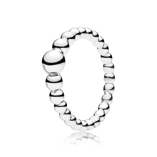 PANDORA 197536-50 String Of Beads Ring Size 5 Taylors Jewellers Alliston, ON