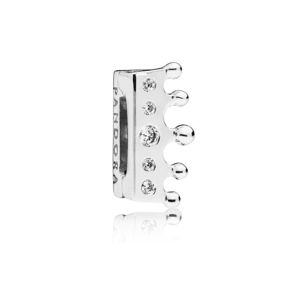 PANDORA 797599CZ CROWN CLIP Taylors Jewellers Alliston, ON