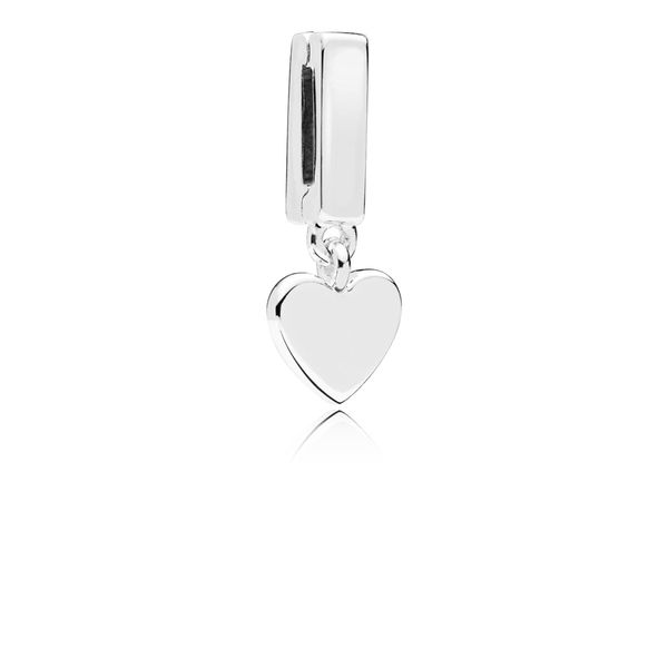 Floating Heart Clip Taylor's Jewellers Alliston, ON