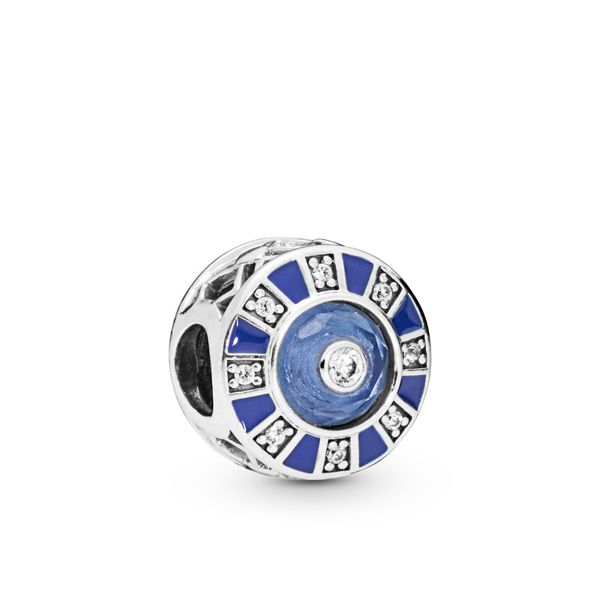 PANDORA 798031EN195 BLUE MOSIAC CHARM Taylors Jewellers Alliston, ON