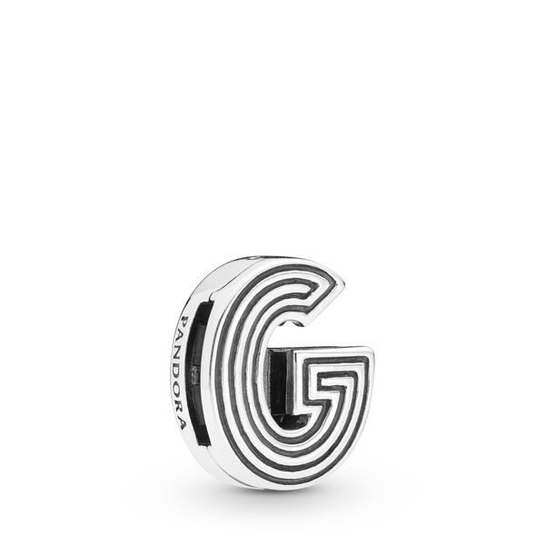PANDORA 798203 LETTER G CHARM Taylors Jewellers Alliston, ON