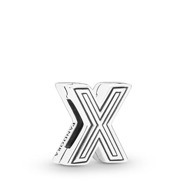 Letter X Clip Charm Taylor's Jewellers Alliston, ON