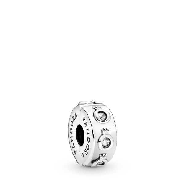 PANDORA 798326CZ SPARKLING CROWN O CLIP CHARM Taylors Jewellers Alliston, ON