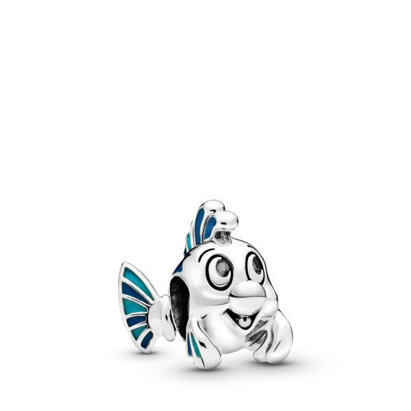 PANDORA 798230ENMX DISNEY THE LITTLE MERMAID FLOUNDER CHARM Taylors Jewellers Alliston, ON