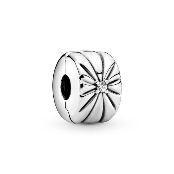 PANDORA 798614C01 SPARKLING SUNBURST CLIP Taylors Jewellers Alliston, ON