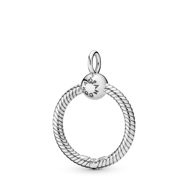 PANDORA 398296 MOMENTS SMALL O PENDANT Taylors Jewellers Alliston, ON