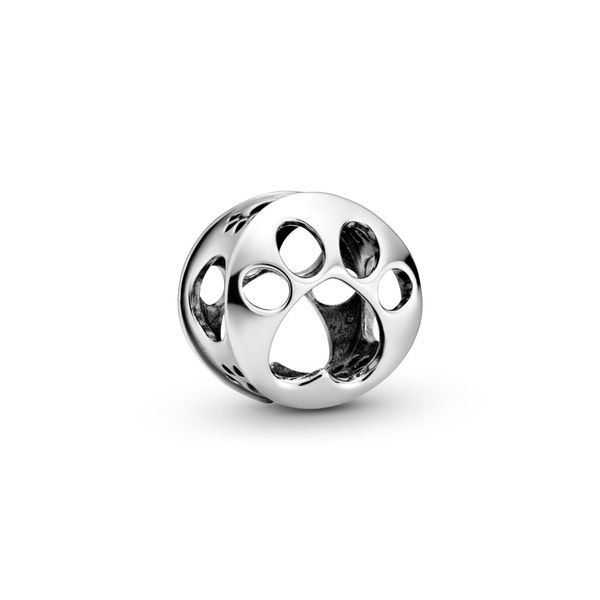 PANDORA 798869C00 Openwork Paw Print Charm Taylors Jewellers Alliston, ON