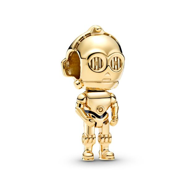 PANDORA SHINE 769244C01 Star Wars C3PO Charm Taylors Jewellers Alliston, ON