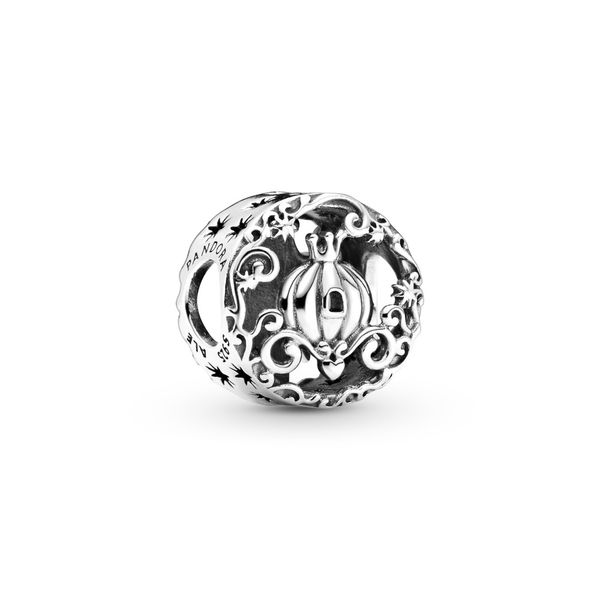 PANDORA 799197C00 DISNEY STERLING SILVER CINDERELLA MIDNIGHT PUMPKIN CHARM Taylors Jewellers Alliston, ON