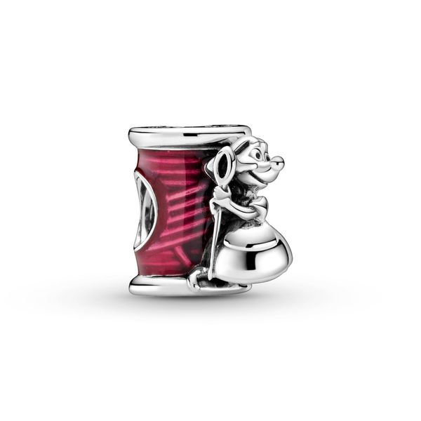 PANDORA 799200C01 DISNEY STERLING SILVER CINDERELLA SUZY MOUSE NEEDLE & THREAD Taylors Jewellers Alliston, ON