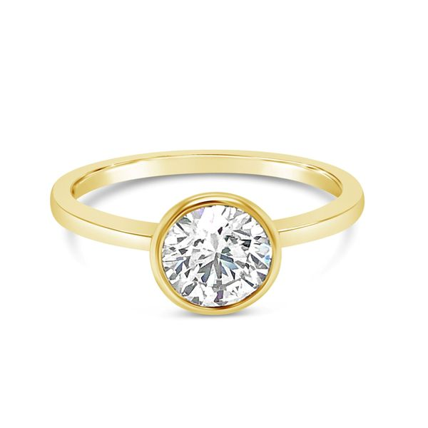 Bezel Set Solitaire Engagement Ring 1 CT Texas Gold Connection Greenville, TX