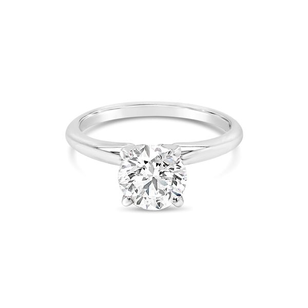 14K White Gold Lab Grown Diamond Engagement Ring 1 CT Texas Gold Connection Greenville, TX