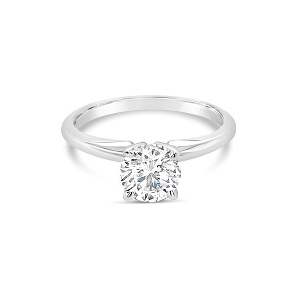 14K White Gold Lab Grown Diamond Engagement Ring 0.78 CT Texas Gold Connection Greenville, TX