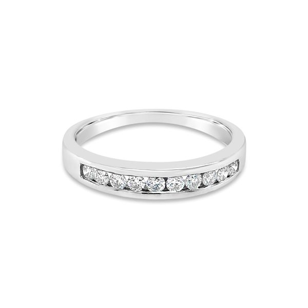Lady's 14K White Gold Diamond Wedding Band Texas Gold Connection Greenville, TX