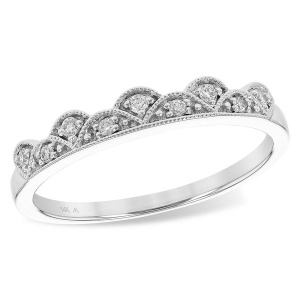 14K White Gold Stackable Diamond Ring Texas Gold Connection Greenville, TX
