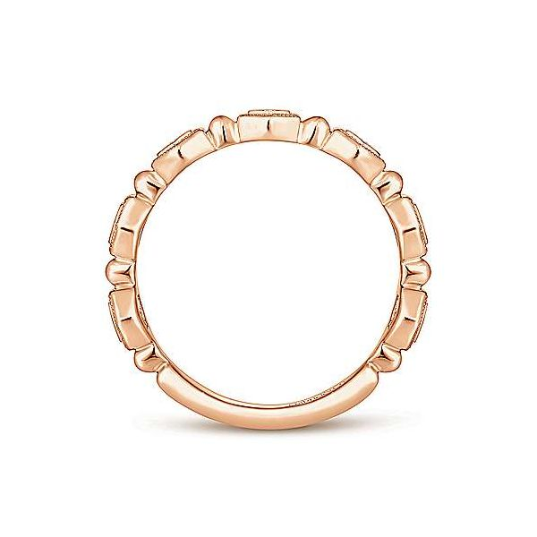 14K Rose Gold Fashion Ladies Ring Image 2 Texas Gold Connection Greenville, TX