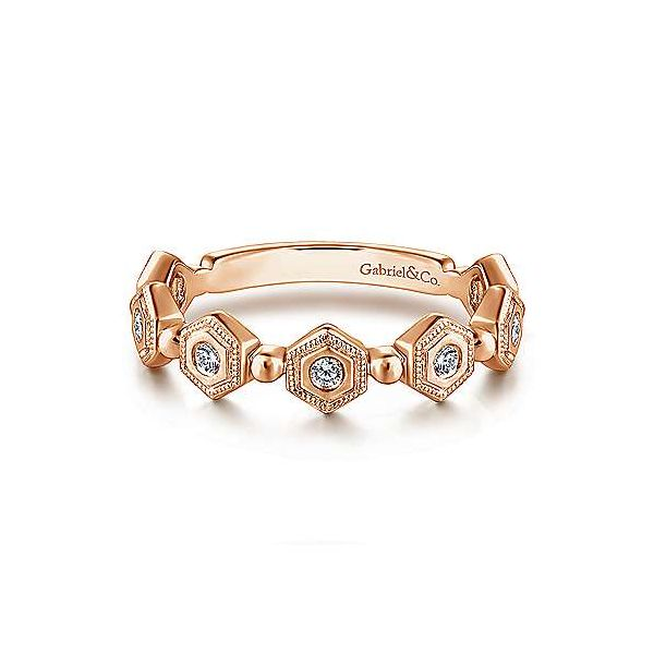 14K Rose Gold Fashion Ladies Ring Texas Gold Connection Greenville, TX
