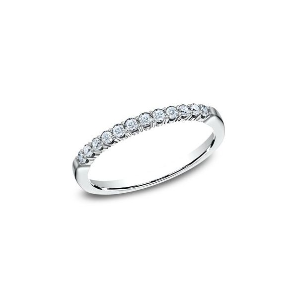 1/4 CT Diamond White Gold Wedding Band Texas Gold Connection Greenville, TX