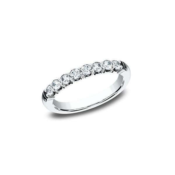 1/2 CT Diamond White Gold Wedding Band Texas Gold Connection Greenville, TX