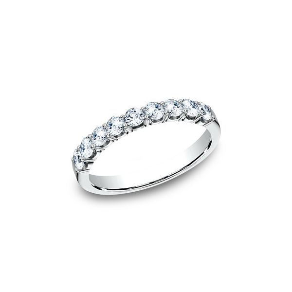 3/4 CT Diamond White Gold Wedding Band Texas Gold Connection Greenville, TX