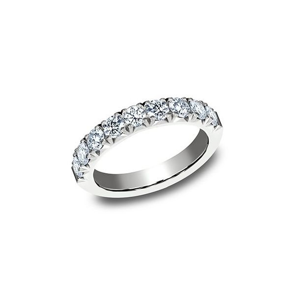 1 CT Diamond White Gold Wedding Band Texas Gold Connection Greenville, TX