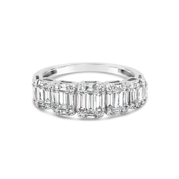 Ladies 14K White Gold Baguette Ring Texas Gold Connection Greenville, TX