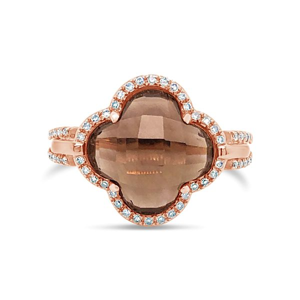 Lady's 14K Rose Gold Contemporary Fashion Ring Texas Gold Connection Greenville, TX