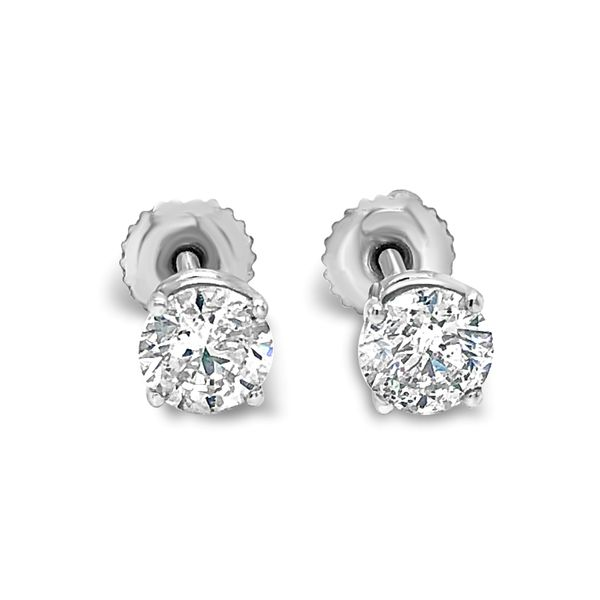 1 1/2 CTW DIAMOND STUD EARRINGS (B Team) Texas Gold Connection Greenville, TX