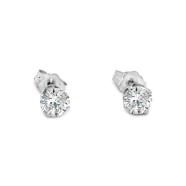 1 CTW PREMIUM DIAMOND STUD EARRINGS (A-Team) Image 2 Texas Gold Connection Greenville, TX