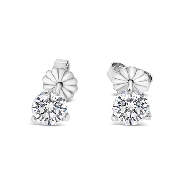 1 CTW PREMIUM DIAMOND STUD EARRINGS (A-Team) Texas Gold Connection Greenville, TX