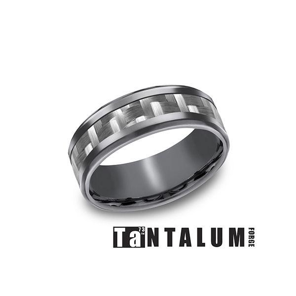 Men's Tantalum Wedding Band Texas Gold Connection Greenville, TX