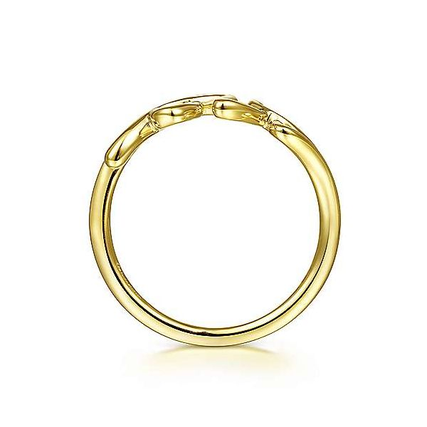 14K Yellow Gold Love Ring Image 2 Texas Gold Connection Greenville, TX