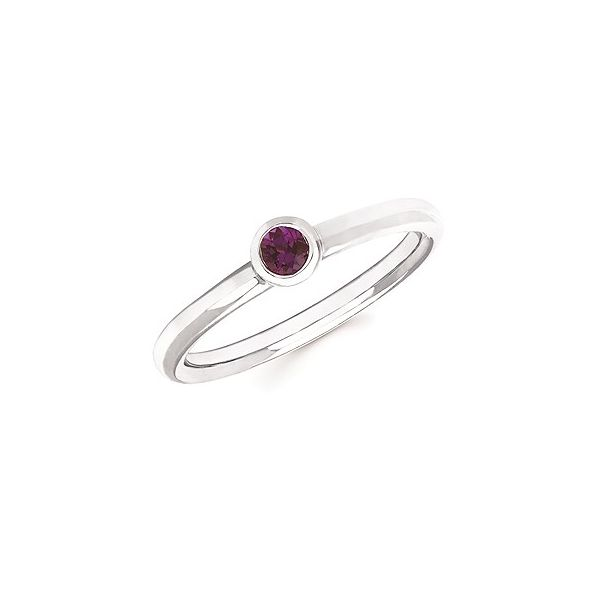 Sterling Silver Stackable Alexandrite Ring Texas Gold Connection Greenville, TX